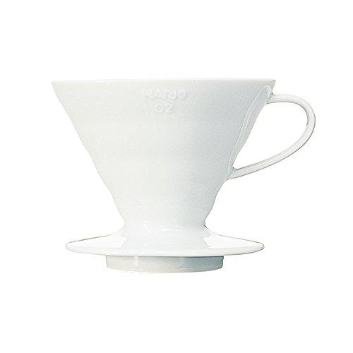 RoomClip商品情報 - HARIO (ハリオ) コーヒードリッパー V60 02 セラミック ホワイト  コーヒードリップ 1~4杯用 VDC-02W