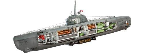 ドイツレベル◆U-Boot Typ XXI 1/144 プラモデルキット・05078