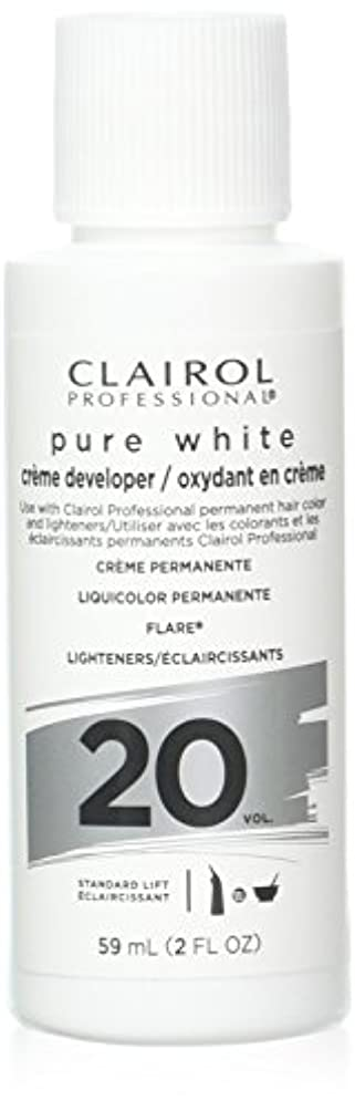 人柄超えるコンドームClairoxide Pure White 20 Volume Creme Developer by Clairol