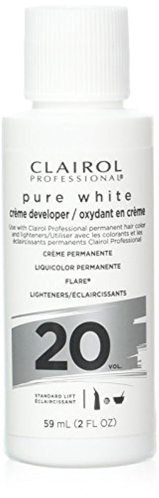 アカウント限界申し立てられたClairoxide Pure White 20 Volume Creme Developer by Clairol