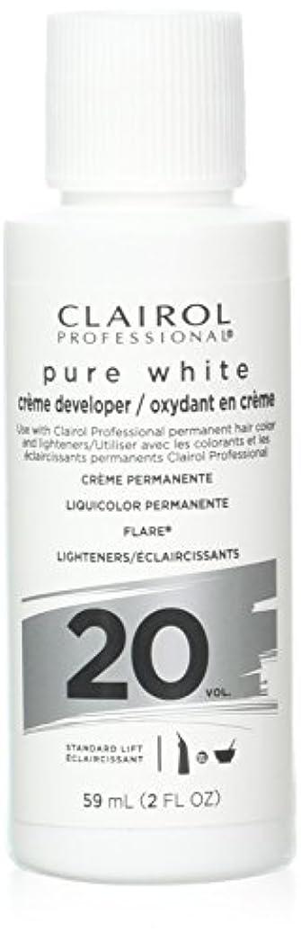 することになっているの広がりClairoxide Pure White 20 Volume Creme Developer by Clairol