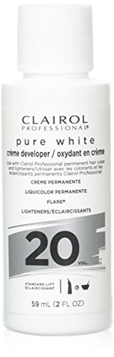 取得読書をする発生Clairoxide Pure White 20 Volume Creme Developer by Clairol