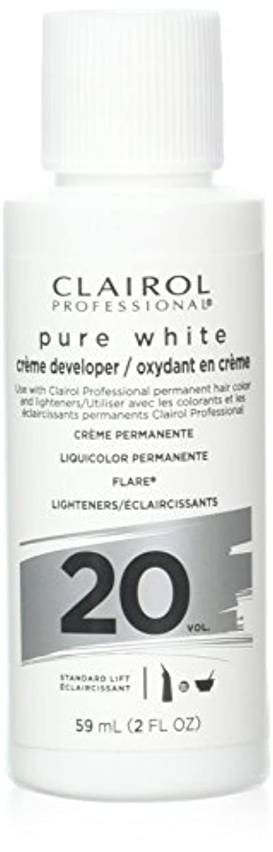 大混乱利得デッドロックClairoxide Pure White 20 Volume Creme Developer by Clairol