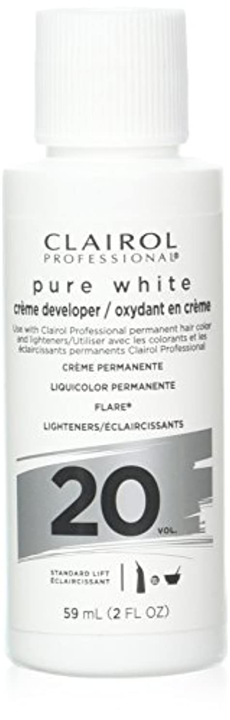 梨梨海洋Clairoxide Pure White 20 Volume Creme Developer by Clairol