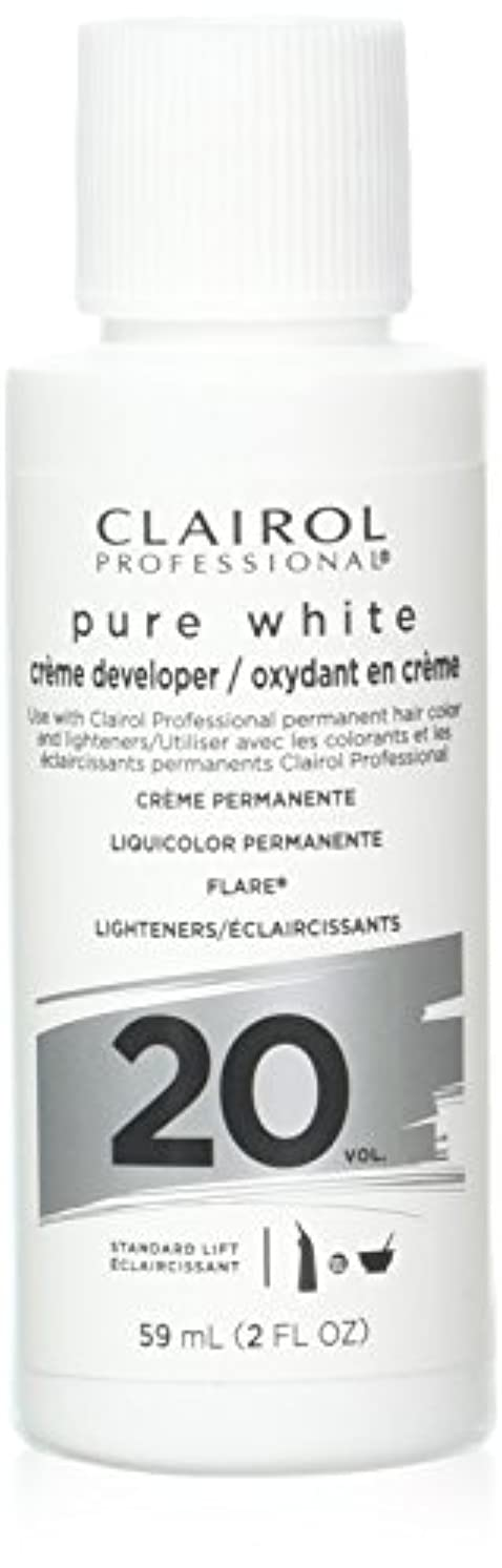 拮抗する枢機卿説明するClairoxide Pure White 20 Volume Creme Developer by Clairol