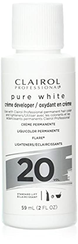 日光防腐剤お風呂Clairoxide Pure White 20 Volume Creme Developer by Clairol