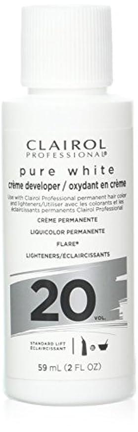素晴らしき家族ドラゴンClairoxide Pure White 20 Volume Creme Developer by Clairol