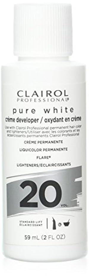 未亡人バンケットジョージスティーブンソンClairoxide Pure White 20 Volume Creme Developer by Clairol