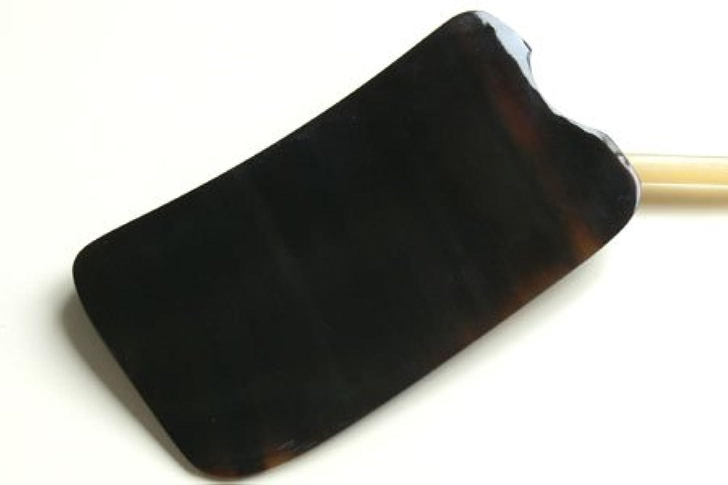ラビリンス貫通スペアかっさ板、美容、刮莎板、グアシャ板,水牛角製
