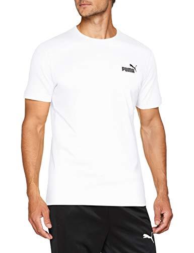 PUMA(プーマ)メンズスポーツウェア 半袖シャツ ESS SS Tシャツ 85174102 メンズ プーマ ホワイト