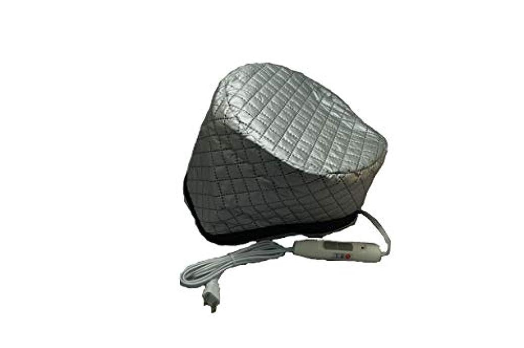 多様な四半期鍔マイルドヒートキャップEX 2段階温度調整スイッチ付き(リニューアル品) ヘナ トリートメント 加温キャップ