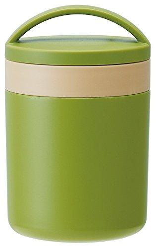 保温 保冷 スープジャー 300ml レトロフレンチ グリーン LJFC3