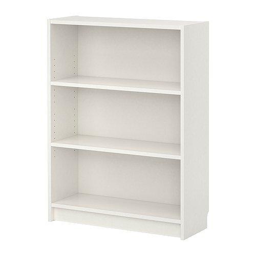 イケア BILLY 書棚 ホワイト W80xD28xH106 IKEA