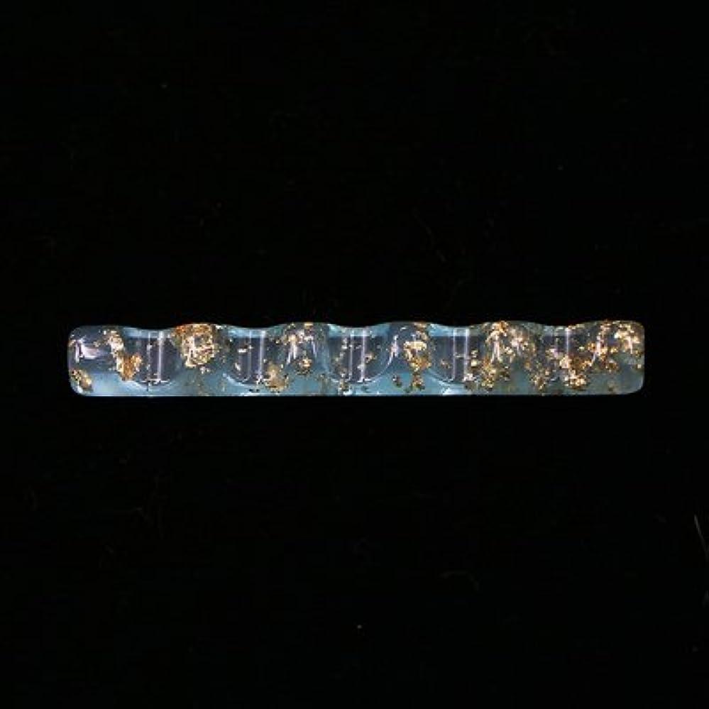強度やさしい汚染するジェルネイル  ブラシホルダー  筆置き  ブラシスタンド  ネイルツール  ネイル用品 (ブルー)