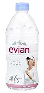伊藤園 Evian(エビアン) ミネラルウォーター 750ml×12本 [正規輸入品]