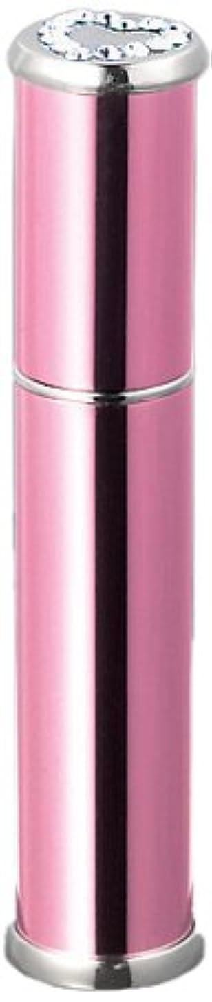 紫のキラウエア山急速な29025 メタルアトマイザーピンク ラインストーンハート