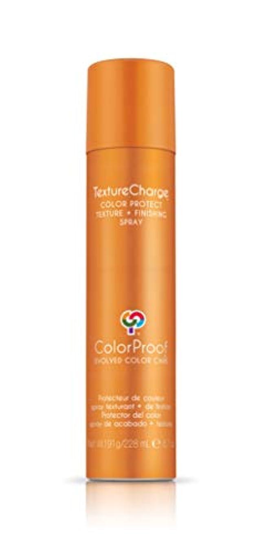手のひらアンカー冷酷なColorProof Evolved Color Care ColorProof色ケア当局テクスチャチャージ色&保護仕上げスプレー、6.7オズ オレンジ