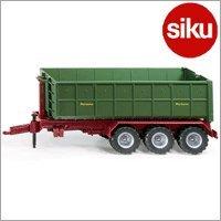 <ボーネルンド> Siku(ジク)社 輸入ミニカー2879 ファーマー フック式リフトトレーラー 1/32スケールトラクター専用パーツ
