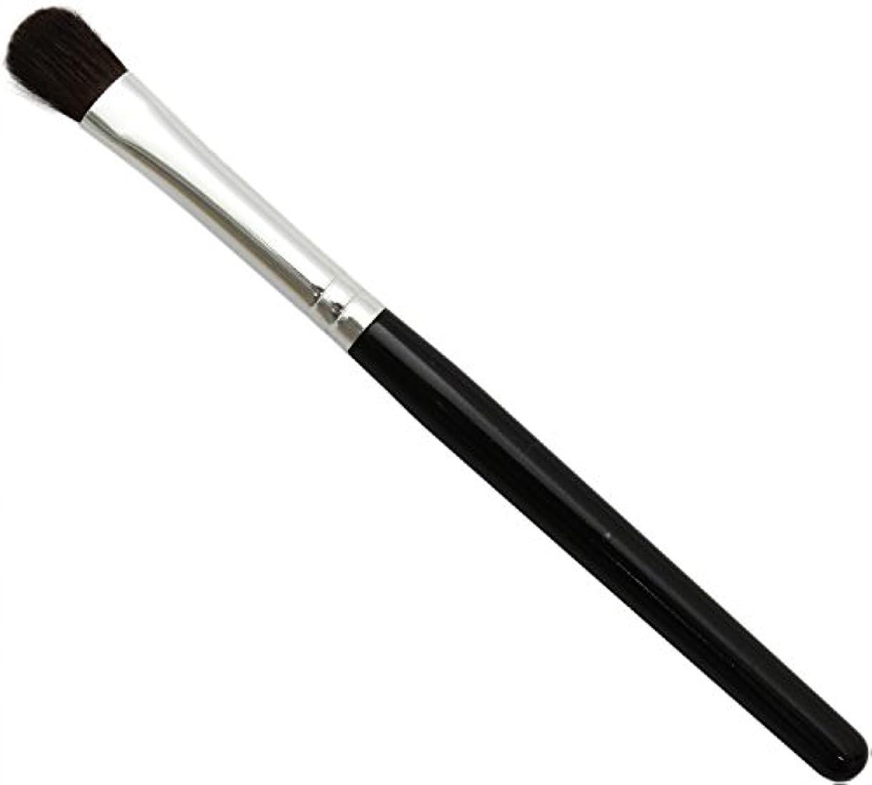 独立した想像力豊かな仕立て屋熊野筆 メイクブラシ KUシリーズ アイシャドウブラシ 小 馬毛