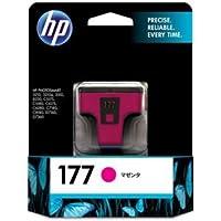 (まとめ) HP177 インクカートリッジ マゼンタ C8772HJ 1個 【×3セット】 〈簡易梱包