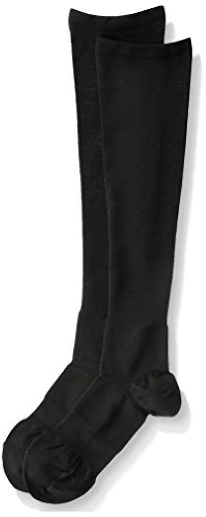 リングレット王子年齢医学博士の考えた着圧靴下ブラックM