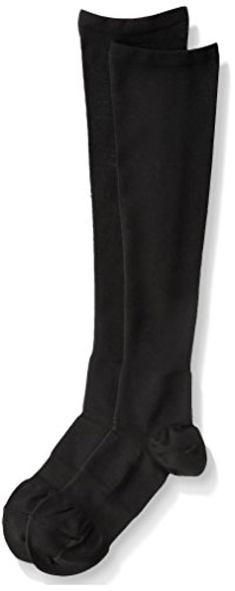 散歩に行く最大の味医学博士の考えた着圧靴下ブラックM