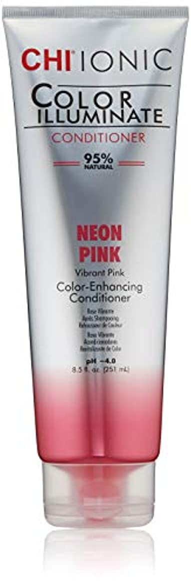 明るくするコースフォームIonic Color Illuminate - Neon Pink Conditioner