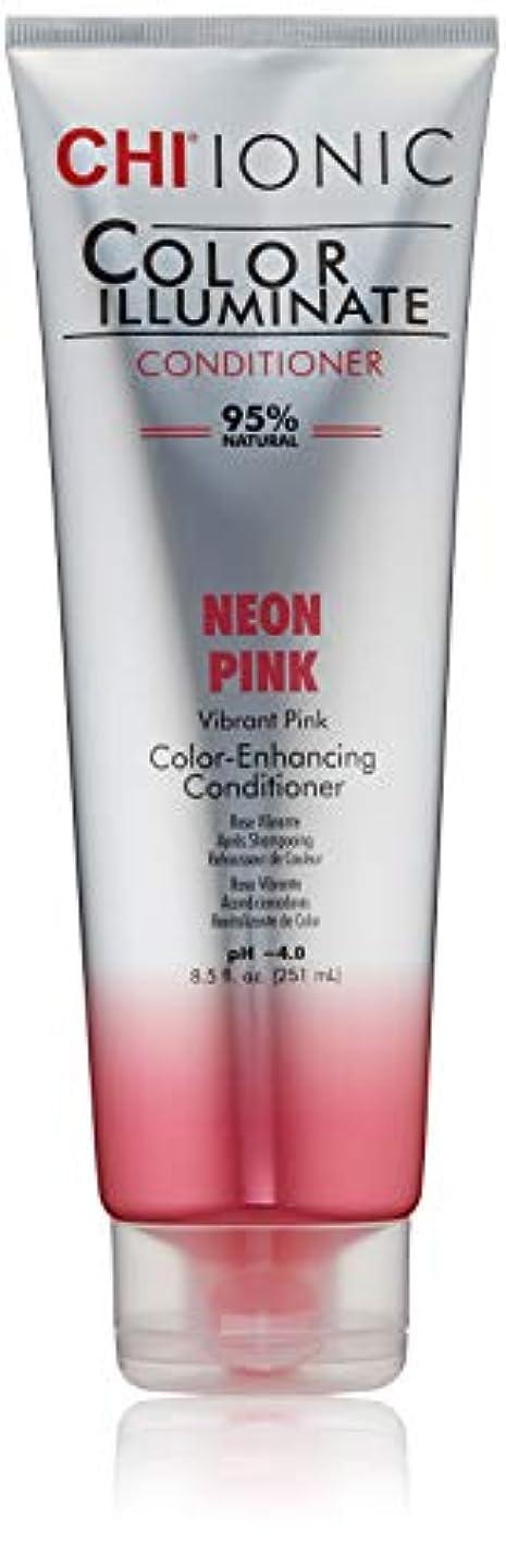 遠洋の放牧する企業Ionic Color Illuminate - Neon Pink Conditioner