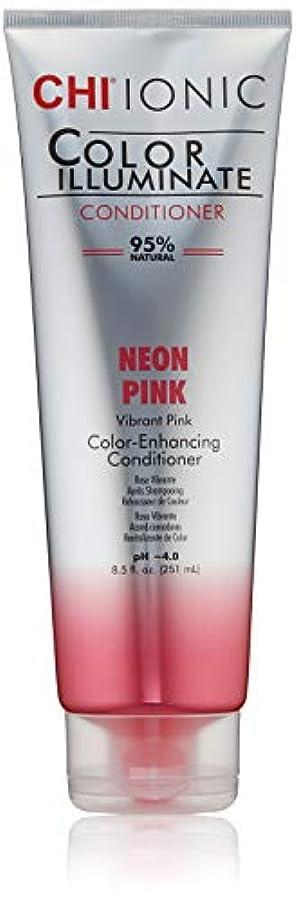 書き出すで出来ている仕方Ionic Color Illuminate - Neon Pink Conditioner