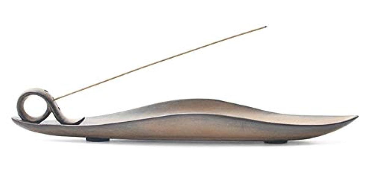 フルートアナロジー注文Djiale Incense Stick Holder Ceramic Incense Burner Holder with Ash Catcher