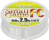 フロロカーボンライン ソルティメイト スモールゲーム 150m 0.7号 2.5lb ナチュラルクリア