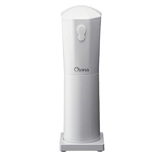 ドウシシャ 大人の氷かき器 コードレス パールホワイト 電池式(単三×4本使用 別売) CDIS-18PWH