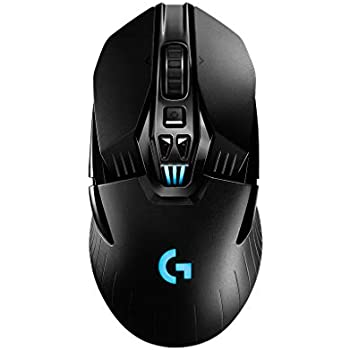 Logicool G ゲーミングマウス ワイヤレス G903 ブラック LIGHTSPEED 無線 多ボタン ゲームマウス LIGHTSYNC RGB POWERPLAY ワイヤレス充電 G903 国内正規品 2年間メーカー保証