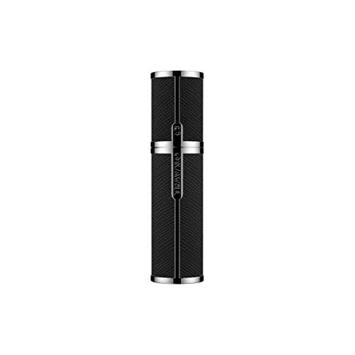 ヒープ入り口ラケットTRAVALO (トラヴァ―ロ) ミラノ アトマイザー ブラック 香水 旅行 携帯 詰め替え ボトル 簡単 香水スプレー