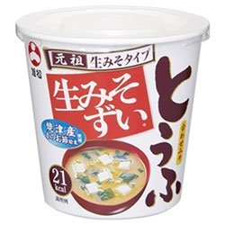 旭松食品 カップ生みそずい 合わせとうふ 15g×6個入×(2ケース)
