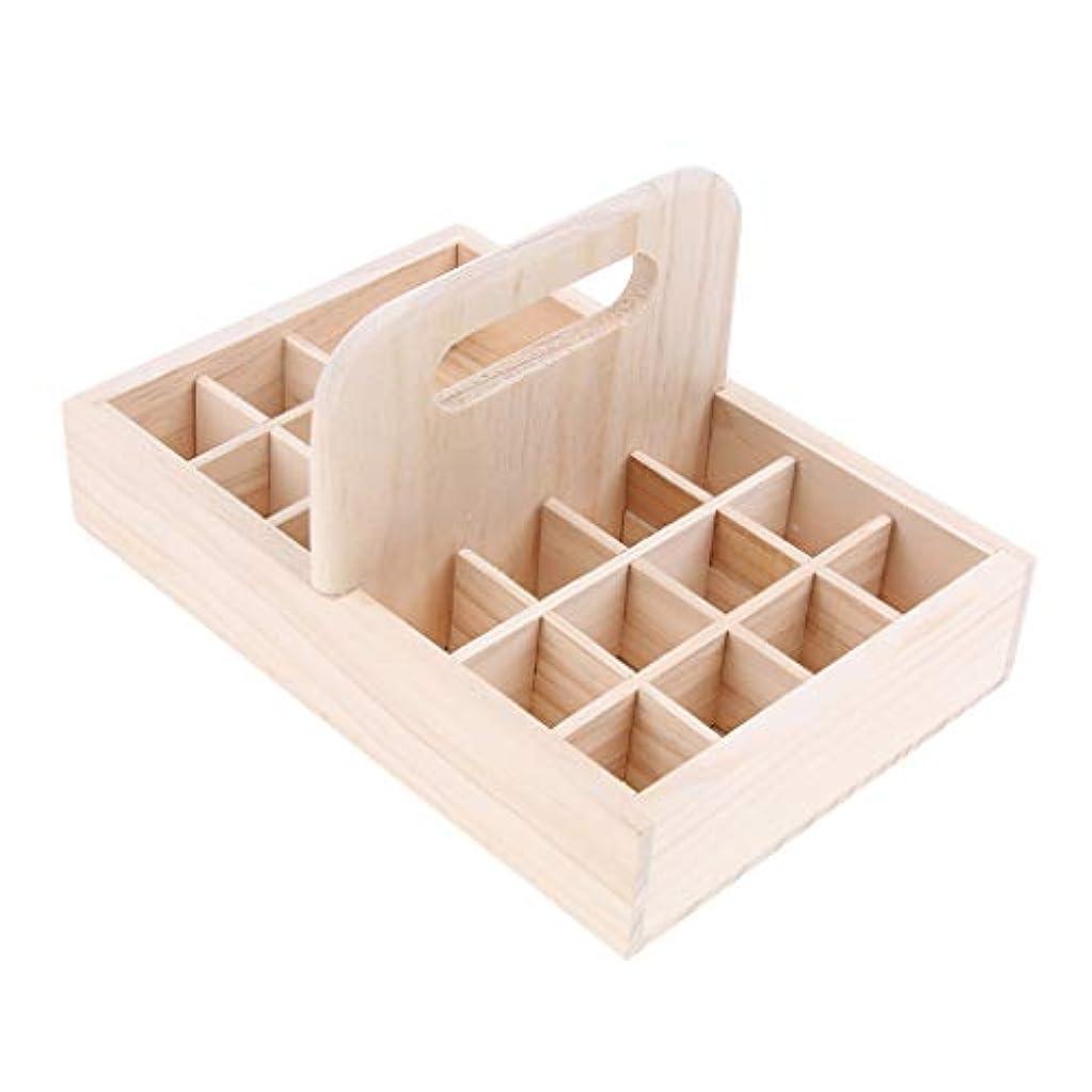 含む小学生忠実な香水 マッサージオイル エッセンシャルオイル ホルダー オーガナイザー 木製ケース