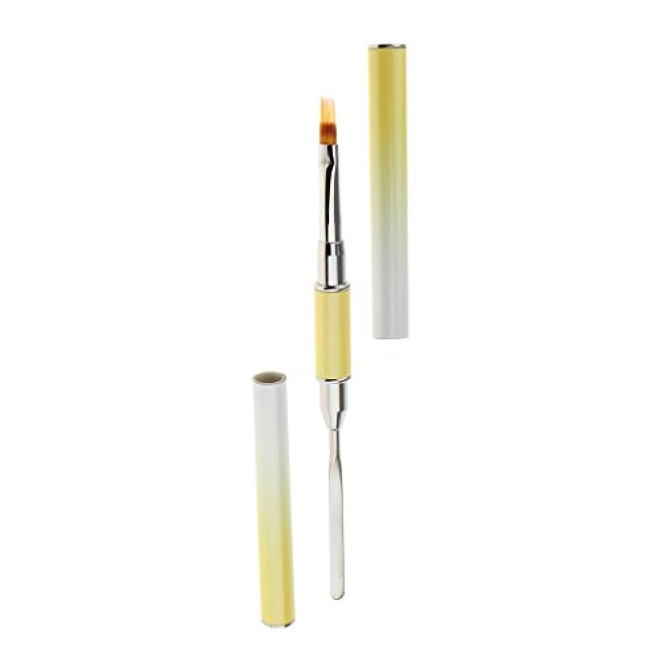 DYNWAVE 全6種類 ネイルペイン 描画ペン ブラシ ポーランドペン デュアルヘッド ネイルアート uvゲル - タイプ6