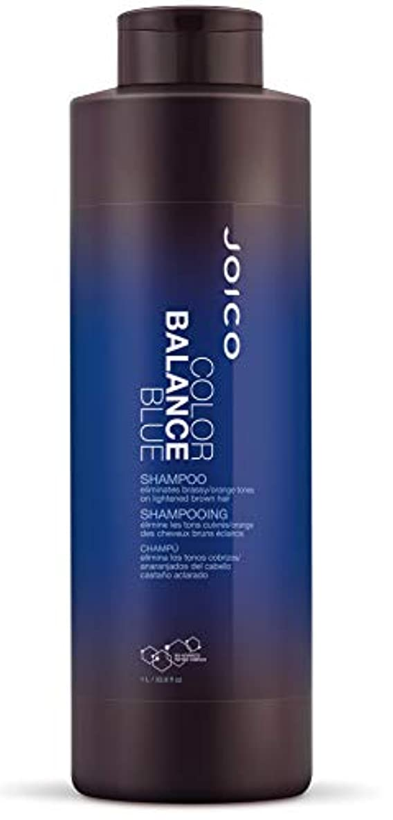ミニ怒る幅ジョイコ Color Balance Blue Shampoo (Eliminates Brassy/Orange Tones on Lightened Brown Hair) 1000ml/33.8oz並行輸入品