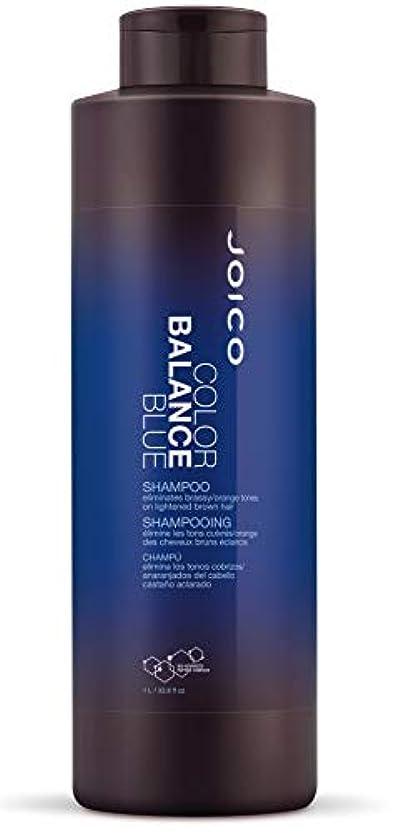 ウェーハ真っ逆さま連想ジョイコ Color Balance Blue Shampoo (Eliminates Brassy/Orange Tones on Lightened Brown Hair) 1000ml/33.8oz並行輸入品
