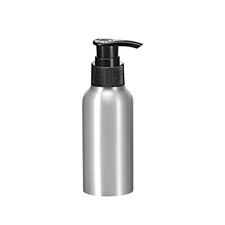 四半期宣伝ラインuxcell アルミスプレーボトル ブラックファインミストスプレー付き 空の詰め替え式コンテナ トラベルボトル 4oz/120ml