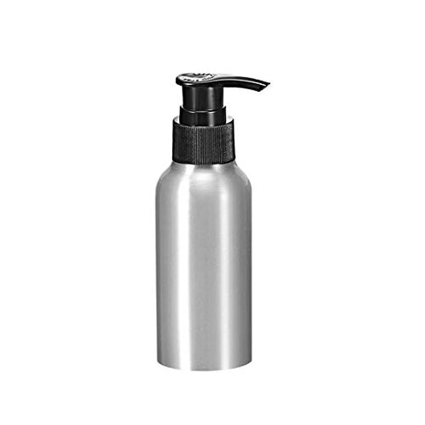 人柄子供時代ディプロマuxcell アルミスプレーボトル ブラックファインミストスプレー付き 空の詰め替え式コンテナ トラベルボトル 4oz/120ml