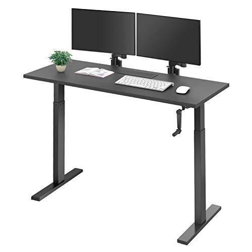 DEVAISE パソコンデスク PCデスク 昇降式 スタンディングデスク 幅...