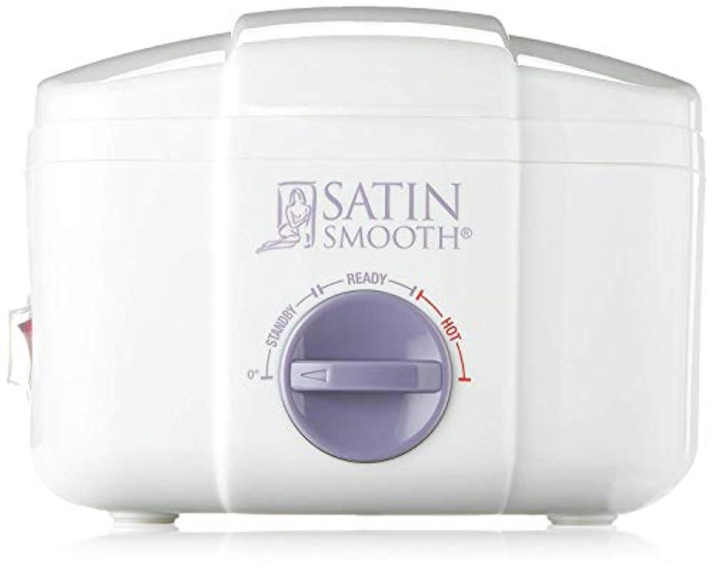 コンチネンタルきらきら警告Satin Smooth SSW12C Single Wax Warmer