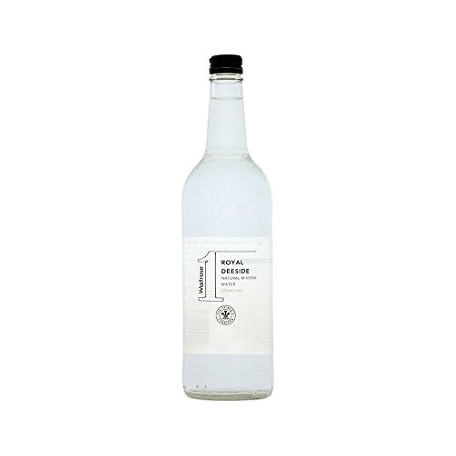 動力学おかしい該当する有機王室のディーサイドの天然スパークリングウォーターガラスボトル750ミリリットル (Waitrose) (x 6) - Organic Royal Deeside Natural Sparkling Water Glass Bottle Waitrose 750ml (Pack of 6)