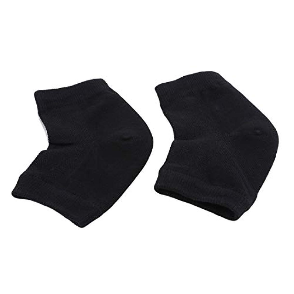 然とした太陽季節KLUMA かかと靴下 ソックス 角質ケア スベスベ ツルツル うるおい 保湿 フットケア レディース メンズ 男女兼用 フリーサイズ 黒色