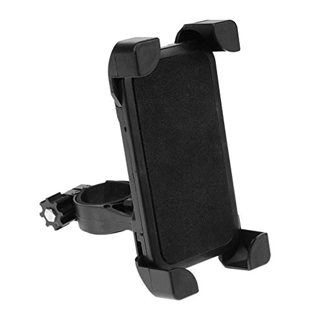 ひねくれた締めるvolflashy 携帯ホルダー 自転車 スマートフォンホルダー バイク ユニバーサル すべり止め 360回転 ハンドルバー マウント スタンド ブラケット 3.5-6.5インチ 携帯 通用