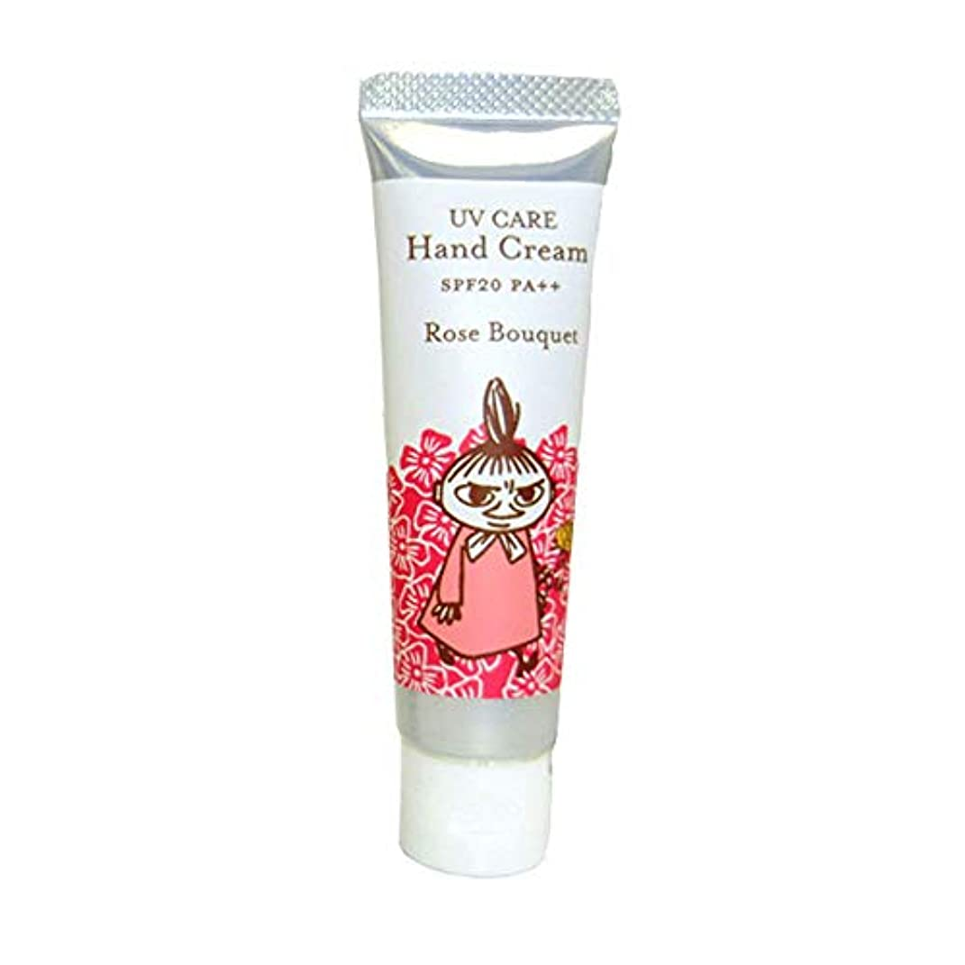 医薬いたずらな維持【ムーミン】UVケアハンドクリーム ローズブーケの香り SPF20 PA++