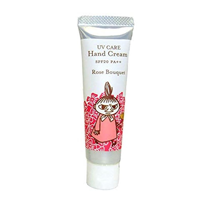 イブブレスリスク【ムーミン】UVケアハンドクリーム ローズブーケの香り SPF20 PA++
