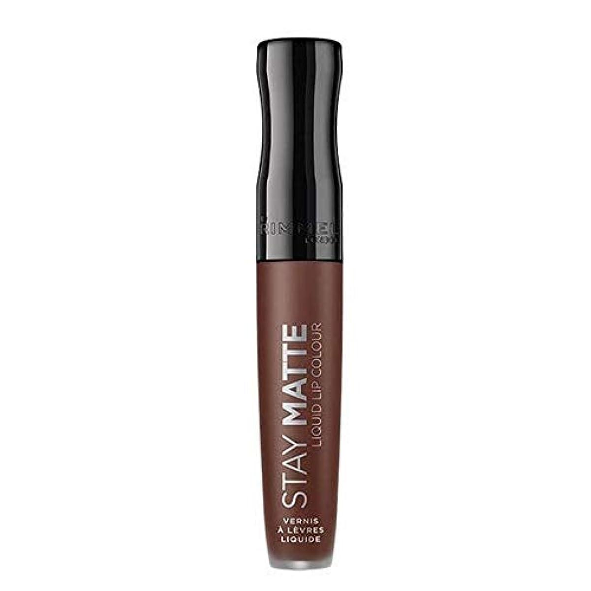 矢リアルバランス[Rimmel ] リンメルステイマット液体リップ口紅プランジ - Rimmel Stay Matte Liquid Lip Lipstick Plunge [並行輸入品]