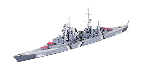 タミヤ 1/700 ウォーターラインシリーズ No.805 ドイツ海軍 巡洋戦艦 プリンツオイゲン プラモデル 31805